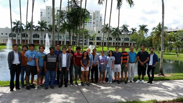 student organization group photo